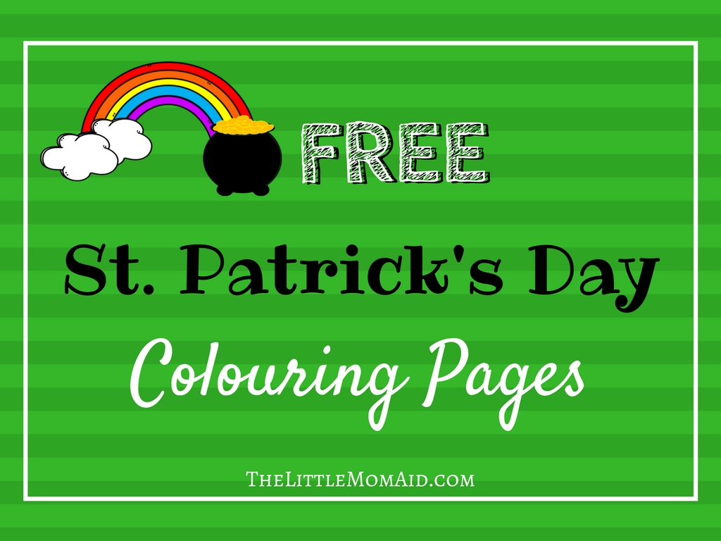 St Patrick's Colouring Pages