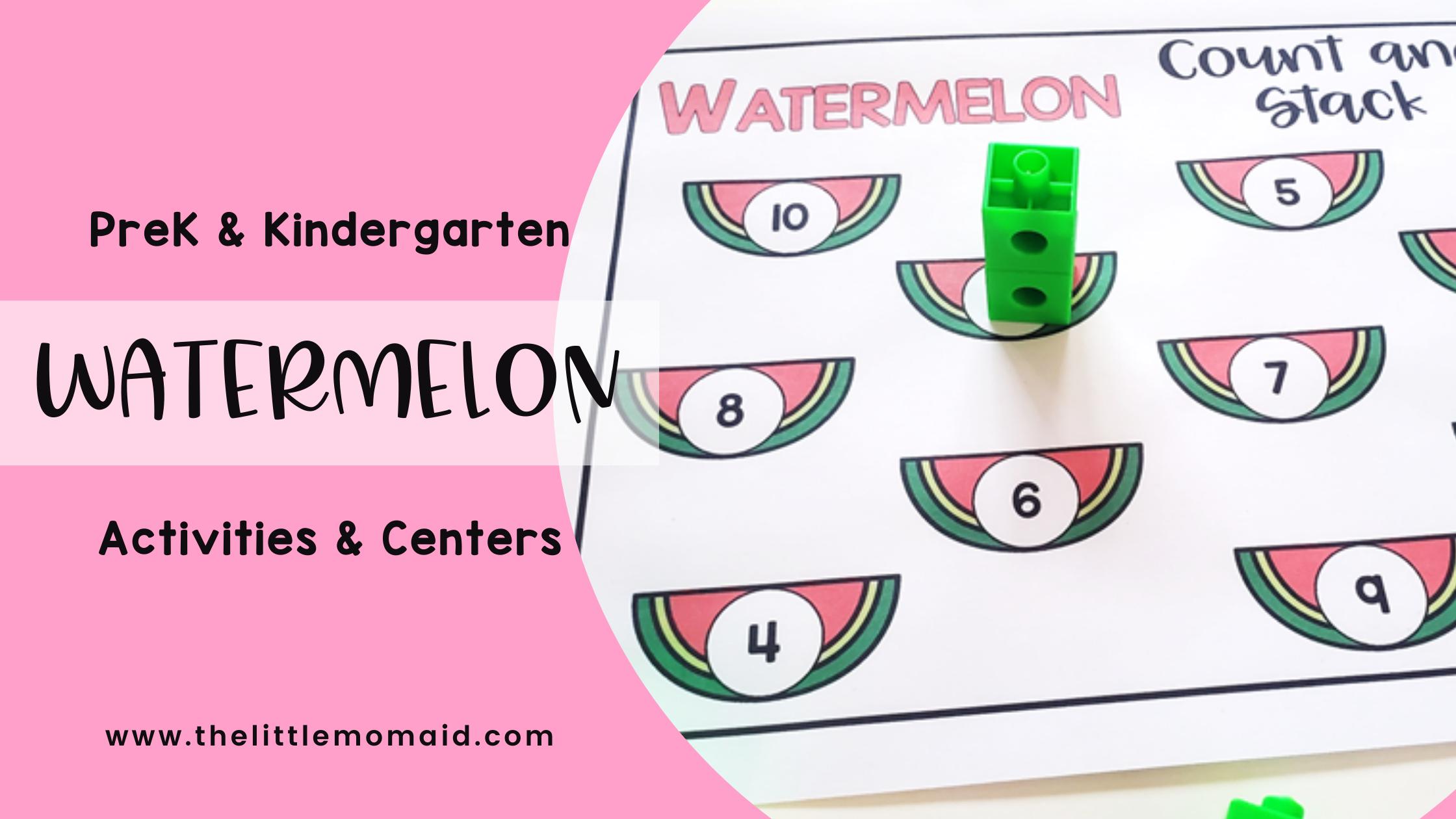 preschool-kindergarten-watermelon-centers